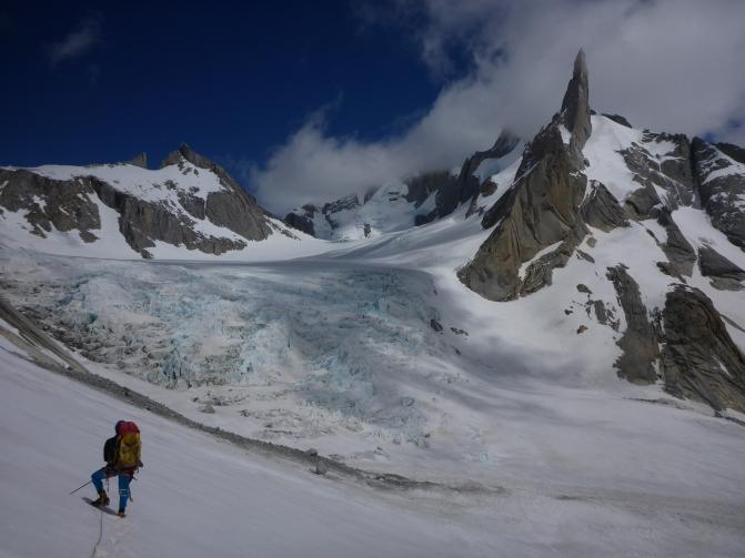 Glacier Fitz Roy Norte