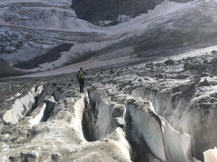 Haut du Glacier Noir
